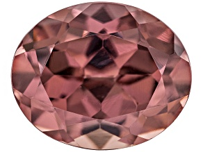 Pink Zircon 11x9mm Oval 6.00ct