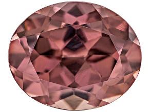 Pink Zircon 11x9mm Oval 6.00ct