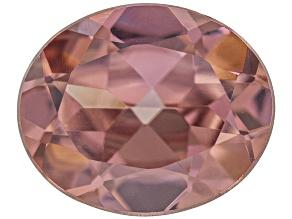 Pink Zircon 11x9mm Oval 4.50ct