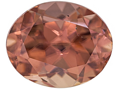 Pink Zircon 10.48x8.56mm Oval 6.12ct