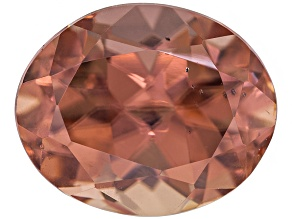 Pink Zircon 10.48x8.56mm Oval 6.12ct