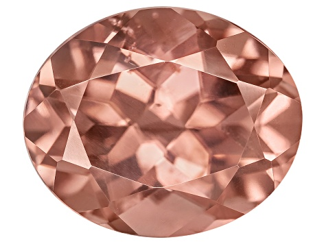 Pink Zircon 12x10mm Oval 8.25ct