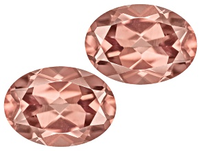 Pink Zircon 7x5mm Oval Set 2.00ctw