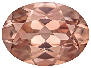 Pink Zircon 15x11mm Oval 10.83ct