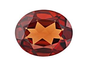 Honey Red Garnet Color Shift 11x9mm Oval 4.30ct
