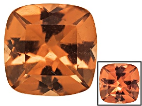 Honey Red Garnet Color Shift 6mm Square Cushion 1.10ct