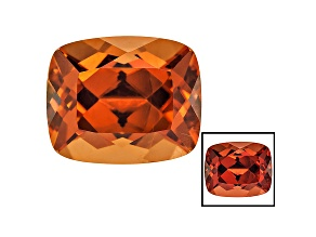 Honey Red Garnet Color Shift 11.5x9.5mm Rectangular Cushion 8.57ct