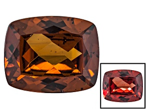 Honey Red Garnet Color Shift 11x9mm Rectangular Cushion 4.00ct