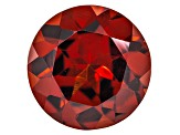 Honey Red Garnet Color Shift 9mm Round 3.00ct