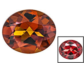Honey Red Garnet Color Shift 11x9mm Oval 4.00ct