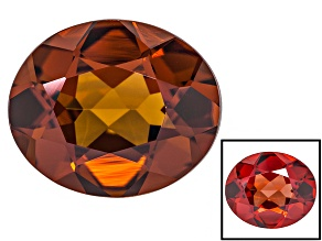 Honey Red Garnet Color Shift 12x10mm Oval 5.00ct