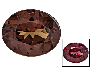 Honey Red Garnet Color Shift 10x8mm Oval 2.90ct