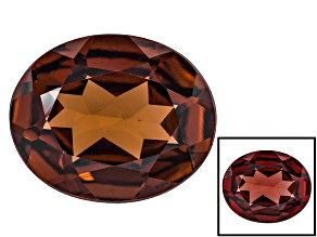 Honey Red Garnet Color Shift 12x10mm Oval 3.90ct