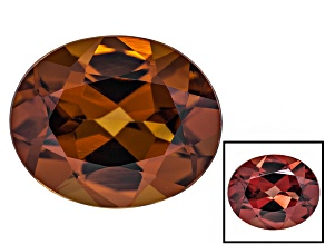 Honey Red Garnet Color Shift 11x9mm Oval 4.15ct