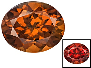 Honey Red Garnet Color Shift 11x9mm Oval 4.50ct