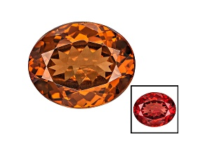 Honey Red Garnet Color Shift 11x9mm Oval 3.75ct