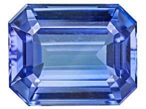 Tanzanite 9.5x7.5mm Emerald Cut 3.20ct