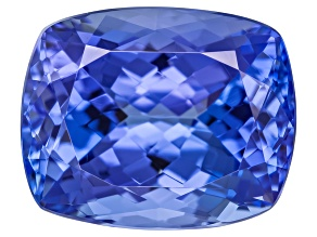 Blue Tanzanite 10.5x8.5mm Rectangular Cushion 4.50ct