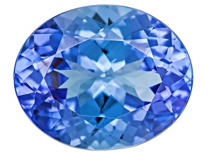 Blue Tanzanite 11.5x9.5mm Oval 4.25ct
