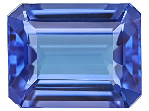 Tanzanite 9.80x7.68mm Emerald Cut 3.18ct