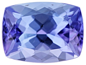 Tanzanite 10.1x7.5mm Rectangular Cushion 2.93ct