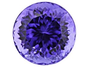 7.09ct Tanzanite 11.3mm Round