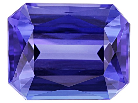 3.64ct Tanzanite 10x8mm Rect Oct
