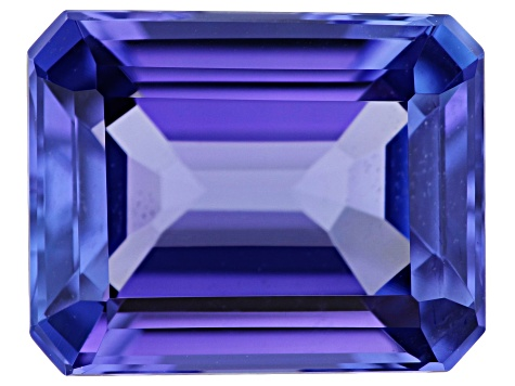 Tanzanite 9.8x7.8mm Emerald Cut 2.84ct