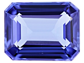 2.90ct Tanzanite 10x8mm Rect Oct