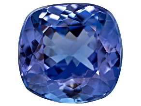 Tanzanite 7.5mm Square Cushion 1.75ct