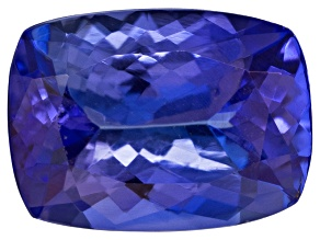 Tanzanite 8x6mm Rectangular Cushion 1.25ct