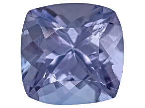 Tanzanite 6mm Square Cushion 0.75ct