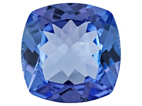 Tanzanite 7mm Square Cushion .65ct