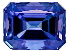 Tanzanite 9x7mm Emerald Cut 3.00ct
