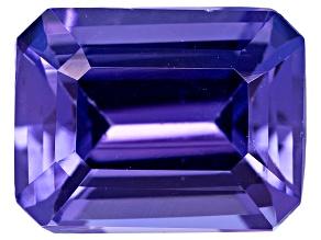 Tanzanite 8x6mm Emerald Cut 1.75ct