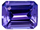 Tanzanite 8x6mm Emerald Cut 1.75ct