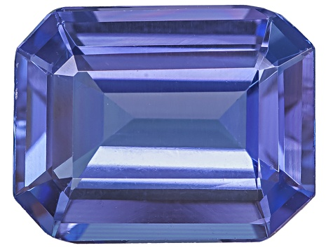 Tanzanite 10x8mm Emerald Cut 3.00ct