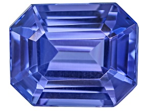 Tanzanite 8.2x6.7mm Emerald Cut 2.17ct
