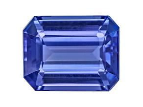Tanzanite 9.5x7.5mm Emerald Cut 2.97ct