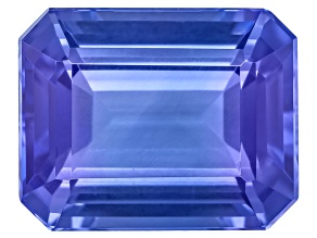 Tanzanite 10.5x8.5mm Emerald Cut 4.00ct