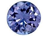 Tanzanite 6mm Round 0.75ct