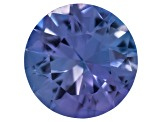 Tanzanite 6mm Round Kiange Cut .75ct