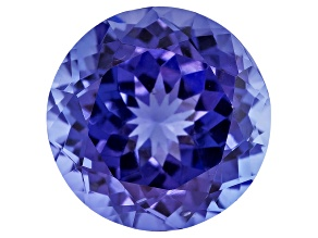 Tanzanite 9.5mm Round Brilliant Cut 3.50ct