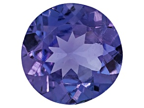 Tanzanite 6mm Round .60ct