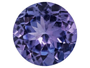 Tanzanite 6.5mm Round .85ct