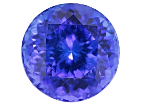 Tanzanite 10.5mm Round 5.85ct