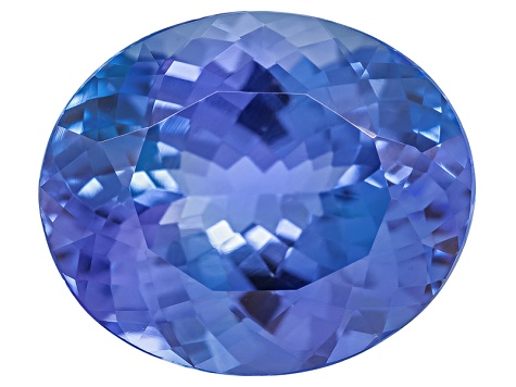 Tanzanite 12x10mm Oval 5.18ct