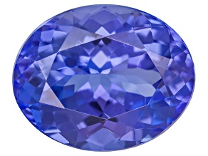 Tanzanite 11.5x9.5mm Oval 4.75ct