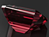 Red Zircon 12x10mm Emerald Cut 9.00ct