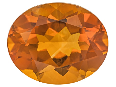 Citrine Madeira 10x8mm Oval Brilliant Cut 2.25ct